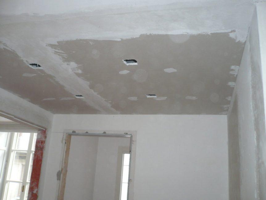 lavoro cartongesso controsoffitto pre stuccatura