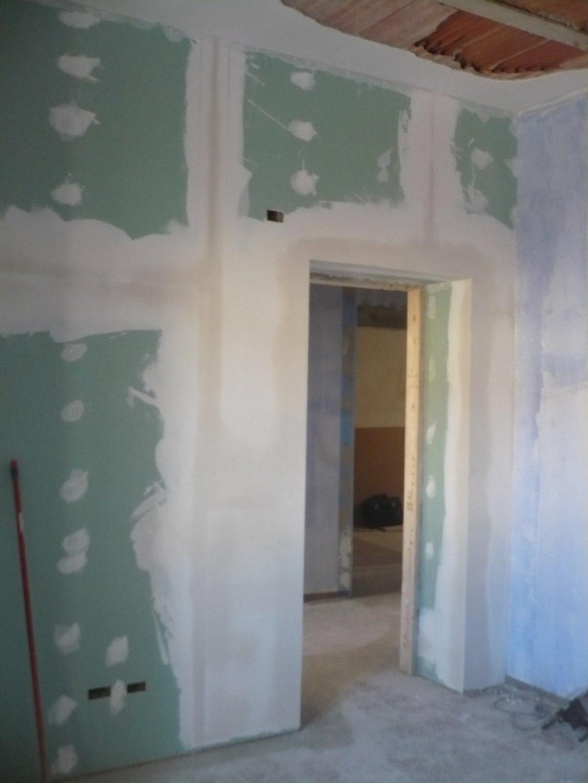 pareti in cartongesso ristrutturazione
