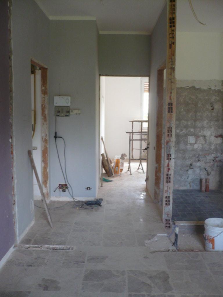 Ristrutturazione completa appartamento Albizzate