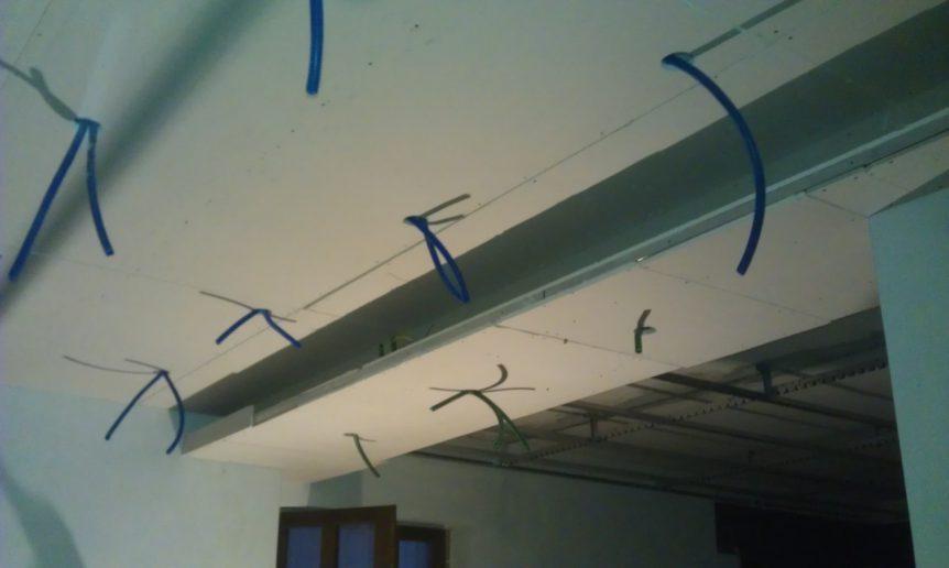 abbassamento soffitto ufficio