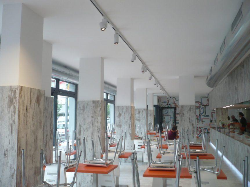 Ristrutturazione completa ristorante Milano